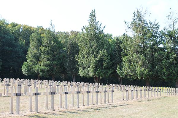 Cimetière militaire | Cléry-sur-Somme