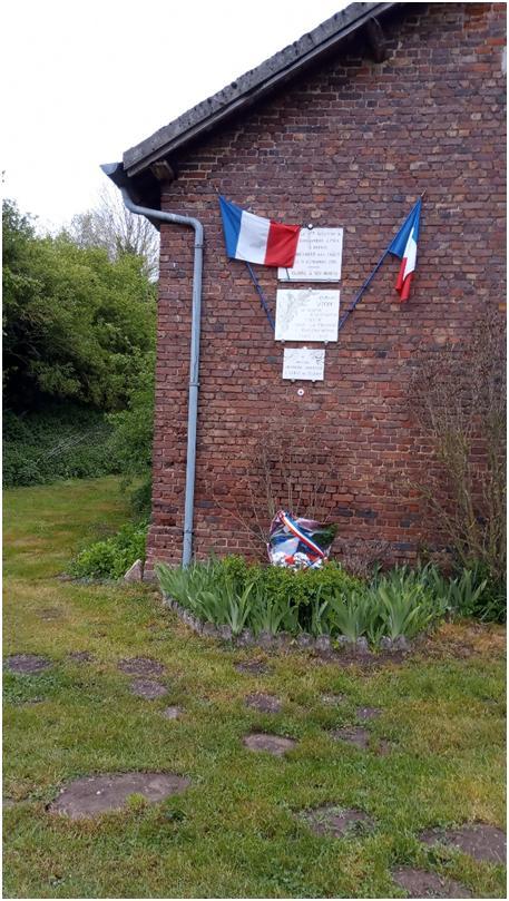 Commémoration 8 mai 1945 Cléry sur somme